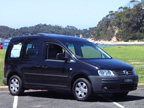 Volkswagen Caddy Camper road test (copyright image)