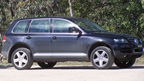 Volkswagen Touareg V10 TDI towing test (copyright image)