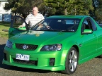 Holden Commodore SS-V ute road test (copyright image)
