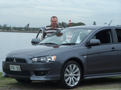 Ken Walker with the 