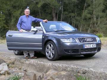 Audi S4 cabriolet road test (copyright image)