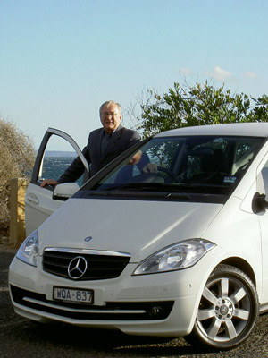 Stephen Walker with the 
